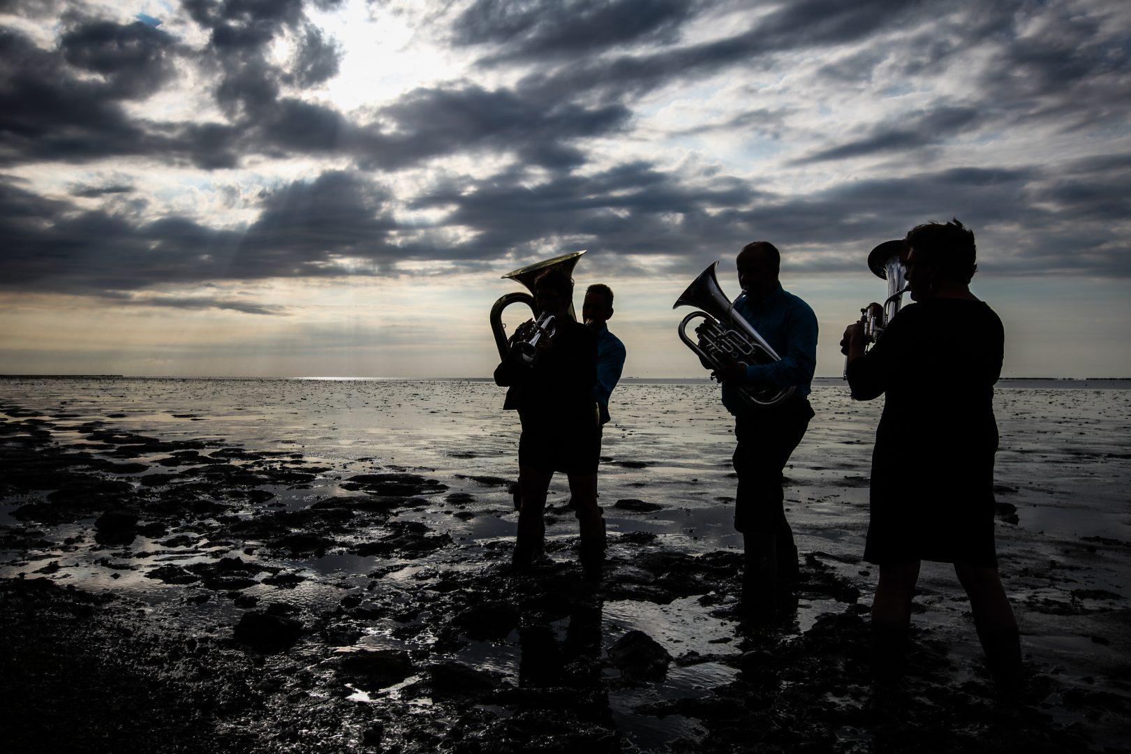 Leven onder aan de dijk