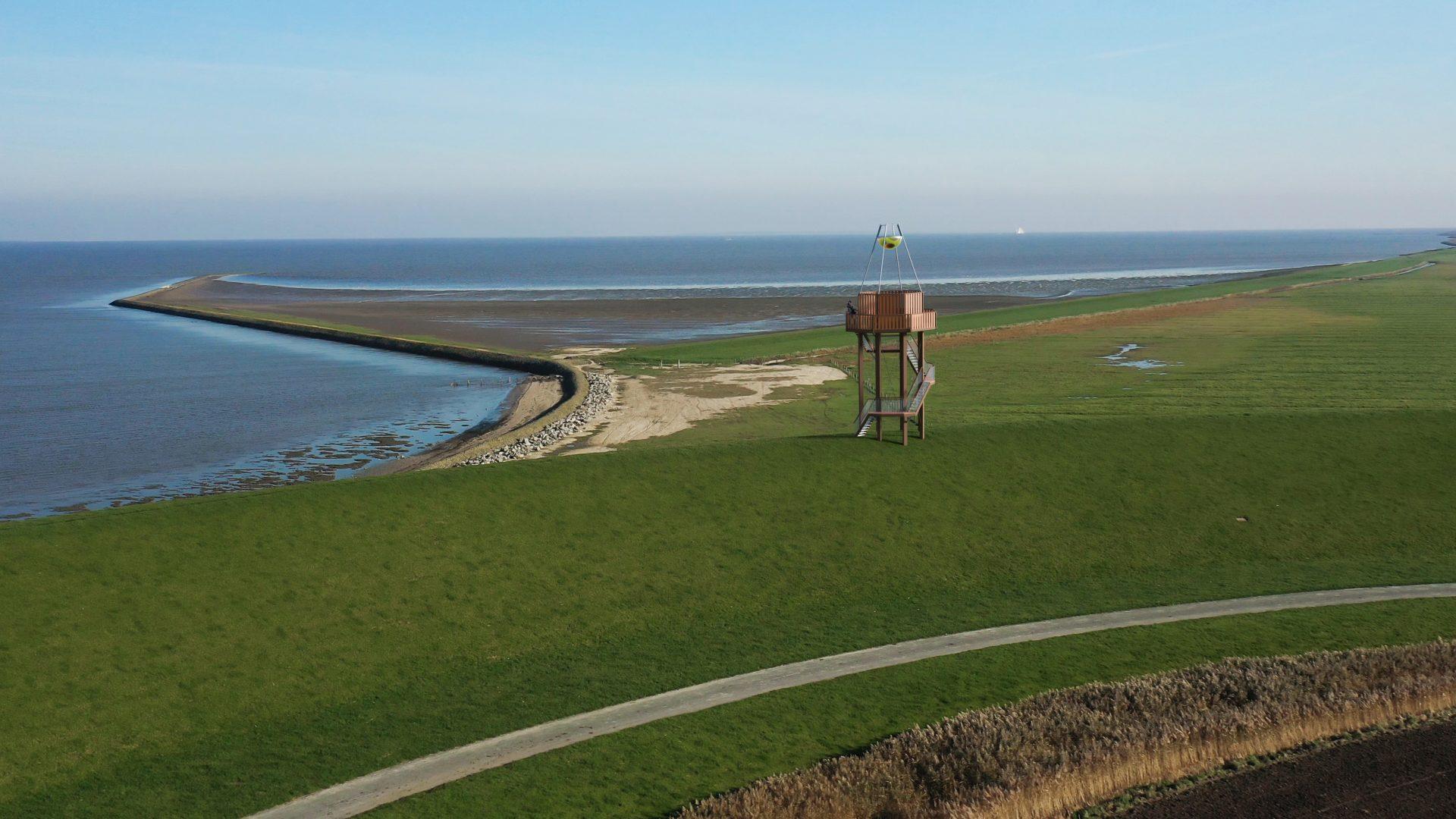 camera batavia op locatie in Ternaard